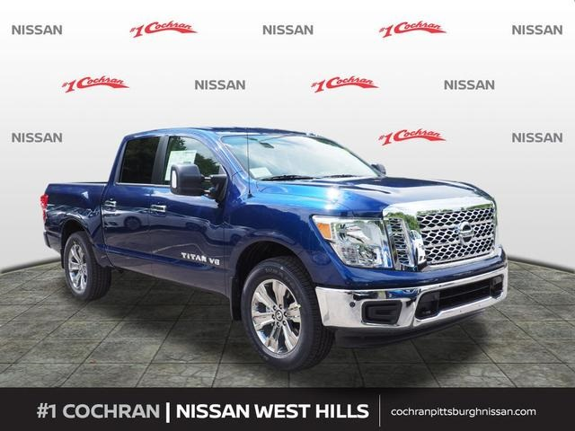 New 2018 nissan titan sv 4d crew cab in pittsburgh #wn180484