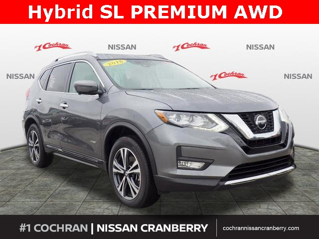 Pre-Owned 2018 Nissan Rogue Hybrid SL PREMIUM